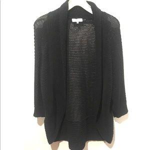 Calvin Klein Open Knit Cardigan Sweater